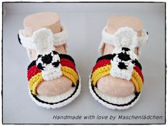 Babyschuhe   von Maschenlädchen auf DaWanda.com