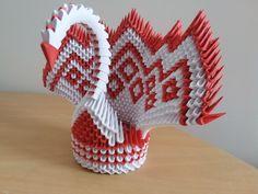 Origami 3D Peacock-paun origami 3D Peacock, Birds, 3d, Peacock Bird, Bird, Peacocks