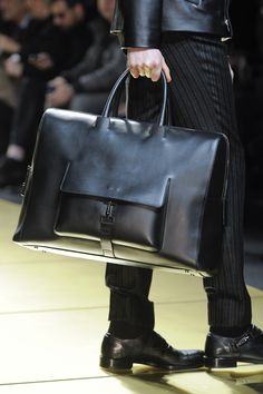 Ermenegildo Zegna - Simply Awesome Design. A Fabulous Man's Weekend Bag