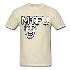 Amazon com MozFashion Men 39 s Big Mtfu T Shirts Khaki Clothing