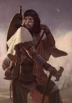 Hoop: the journey of a princess warrior, Rodrigo Idalino on ArtStation at https://www.artstation.com/artwork/3L4kv