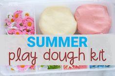 Summer Play Dough Kit