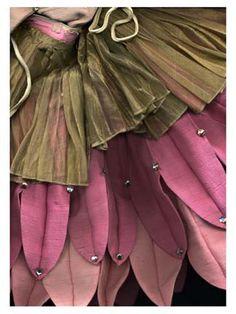 fairy costume, flower petal skirt