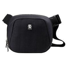 CRUMPLER Quick Escape - 600 Camera bag QE600-001 dull Black Free shipping #Crumpler