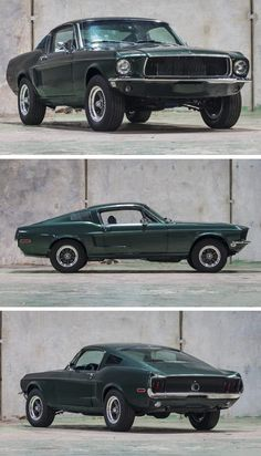 New Cool cars 2019 Bullitt-Spec 1968 Ford Mustang Fastback - There are few movie cars more famous t. New Cool cars 2019 Bullitt-Spec 1968 Ford Mustang Fastback - There are few movie cars more famous t. Ford Mustang Bullitt, Ford Mustang Fastback 1968, Shelby Mustang Gt500, 2015 Mustang, New Ford Mustang, Mustang Cobra, Classic Mustang, Ford Classic Cars, Mustang Vert
