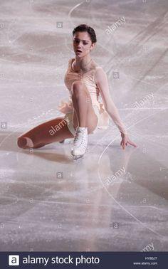 Apr, Evgenia Medvedeva of Russia performs during the Exhibition Program at ISU World Figure Skating Championships 2017 in Helsinki, Finland, on April Credit: Matti Matikainen Figure Skating Costumes, Figure Skating Dresses, Tonya Harding, Katharina Witt, Dancer Photography, Kim Yuna, Athletic Events, Ice Girls, World Figure Skating Championships
