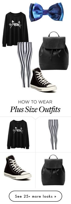 """""""Untitled #187"""" by heyhello3593 on Polyvore featuring Converse and MANGO"""