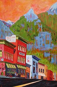 """Coming Home by Dianna Fritzler Acrylic ~ 60"""" x 40"""""""