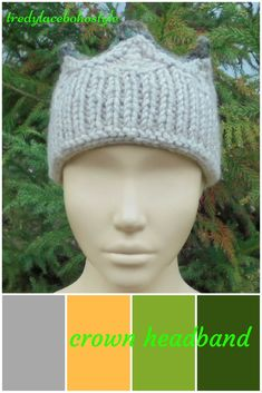 Crown headband knit is stylish outfits for women 20$ #crown #headband #knit
