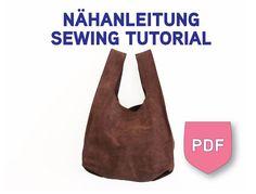 Nähanleitung mit Schnittmuster Einkaufstüte von DIYSewingAcademy, €4.90