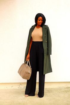 Chic en pantalon large ET long siouplait !
