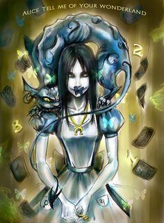 Come now , Alice, its only a dream by RedVictim on deviantART Lewis Carroll, Dark Alice In Wonderland, Chibi, Alice Liddell, Go Ask Alice, Chesire Cat, Alice Madness Returns, Dark Disney, Estilo Rock