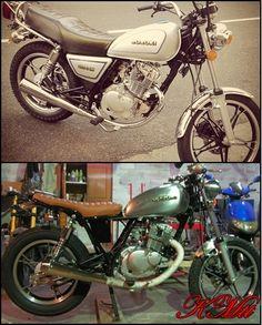 Suzuki GN 125 Tracker :: KMtt Custom Motorcycles