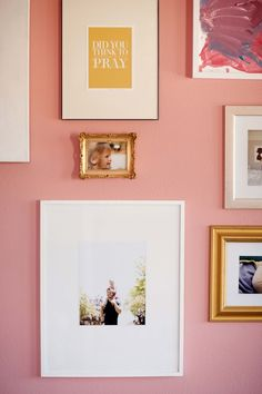 Nursery or girl's room collage