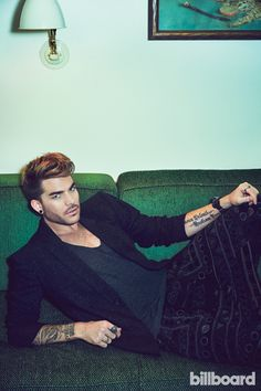 Adam Lambert: The Billboard Shoot | Billboard