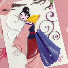 Paper Cutting Disney Art by Nathanna Érica Prints Available Here: http://tidd.ly/ff9b8285
