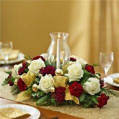 1-800-FLOWERS® GLORIOUS CHRISTMAS™ CENTERPIECE | Glorious Flowers