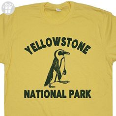 7c74d4ee Yellowstone Penguin T Shirt Yellowstone National Park T Shirt Funny T Shirts.  We add new funny t shirts, vintage t shirts and cool graphic tees all the  time ...