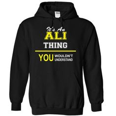 It is a ALI thing you would not understand - #gift for girlfriend #candy gift. GET YOURS => https://www.sunfrog.com/Names/It-is-a-ALI-thing-you-would-not-understand-4897-Black-6577013-Hoodie.html?68278