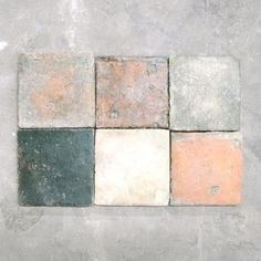 Chateau Domingue - Square Terracotta Tile