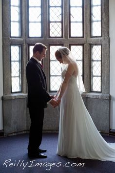 The First Look at the Pres House in Madison.  Madison Wedding Photographers