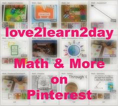 Need Math Lesson Ideas? (1500 links on Pinterest!)