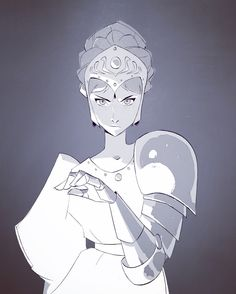 "mayonose: "" Doin' some fanart fridays with our theme for the next few weeks is Ghibli Baddies~ This is Kushana from Nausicaa with her badass metal arm "" Female Character Design, Character Design References, Character Drawing, Character Design Inspiration, Character Concept, Concept Art, Animation Character, Fanart, Art Inspo"