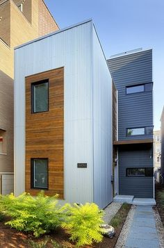 Fourplex located in calgary is an example of modern for Modular fourplex