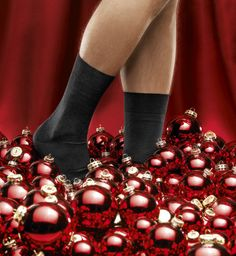 Christmas Tree Decorations Black Socks http://www.blacksocks.com/en-us