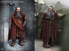 Young Balin's costume