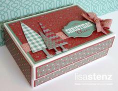 Lisa's Creative Corner: November Creative Club Project - Sparkle & Shine Notecard Box