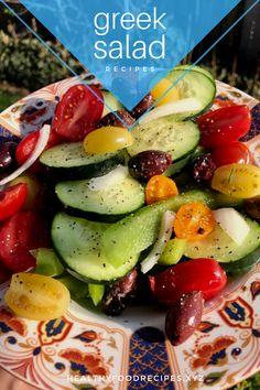 How many calories in Greek salad with feta cheese, Greek salad vs. Greek Yogurt Salad Dressing, Greek Chicken Salad, Greek Quinoa Salad, Greek Salad Pasta, Easy Greek Salad Recipe, Greek Salad Recipes, Healthy Salad Recipes, Greek Salad Calories, Salad Nutrition Facts