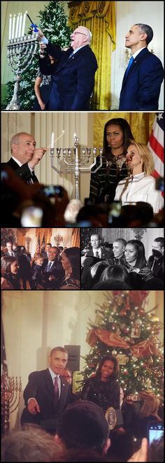 #44 #President #POTUS Of The United States  Of America Commander In Chief #BarackObama #FirstLady #FLOTUS Of The United States  Of America #MichelleObama Wednesday #December14th #2016 #hosting their #FINAL #Hanukkahreception at the #WhiteHouse where a menorah owned by the family of late Israeli President Shimon Peres will be lit.