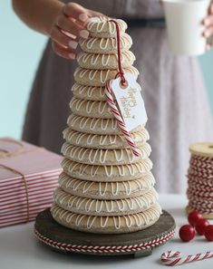 Kransekake   A Danish Wedding Cake   Danish Food   Travel  from Eat     Now that it is officially December  we thought we d share this great holiday