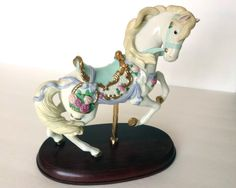 LENOX Carousel Horse 1995 by PegsRelics on Etsy
