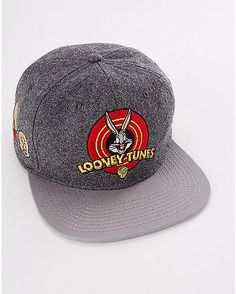 8aa11db3d96 Looney Tunes Snapback Hat - Spencer s