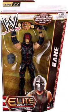 Amazon.com: WWE Elite Collection Kane Action Figure: Toys & Games