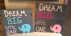 Dream Big Little One by JesszJunk on Etsy