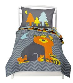 Buy Where The Polka Dots Roam Toddler Reversible Bedding Set Woodland Creature - Adorable 4 Piece Set Flat Sheet, 1 Fitted Sheet, 1 Pillowcase, a Comforter) That fits a Toddler or Crib Mattress Luxury Comforter Sets, Luxury Bed Sheets, Twin Comforter Sets, Kids Bedding Sets, Baby Bedding, Nursery Bedding, Nursery Decor, Comfy Bed, Bed Sheet Sets