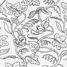 William Morris Colouring Pages 11 The Project Gutenberg EBook Of Jacobean Embroidery By Ada, william morris coloring pages, william morris colouring pages. Cushion Embroidery, Jacobean Embroidery, Blackwork Embroidery, Cross Stitch Embroidery, Embroidery Transfers, Free Machine Embroidery Designs, Hand Embroidery Patterns, Colouring Pages, Coloring Books