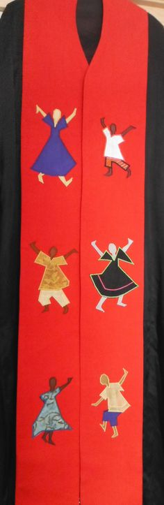 Clergy Stole - Dancing for Joy on Etsy, $195.00
