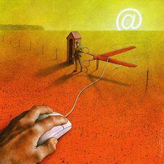New Thought-Provoking Satirical Illustrations By Pawel Kuczynski
