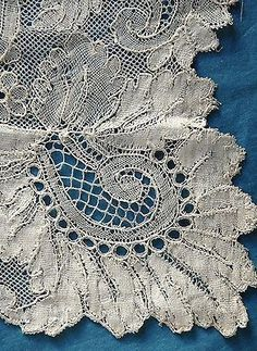 Chantilly lace, 19th century