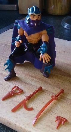1988 Teenage Mutant Ninja Turtles Shredder figure | eBay