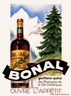 Bonal - gentiane-quina des montagnes de la Grande Chartreuse - apéritif -