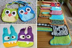 You will love this Crochet Baby Bib Pattern Free Collection. The ideas are wonderful and they will make the perfect gift for a newborn