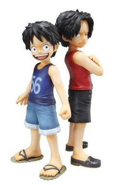 Portrait.Of.Pirates One Piece CB-EX Luffy & Ace ~ Bonds of Brothers ~ #Megahouse