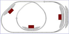 Model Train Layouts & Track Plans in OO scale - Various projects, designed with SCARM layout software