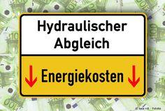 Hydraulischer Abgleich senkt die Energiekosten