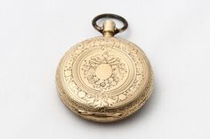 *THOMAS WILLIAM SOLOMON BROWN's~ pocket watch: Brown, a 60-year-old South African hotel owner,was a 2nd-class passenger on Titanic,on his way to Seattle, WA w/his wife+daughter.The two women survived in a lifeboat+Brown's watch was presented to his daughter,Edith Brown Haisman,after it was recovered in 1993.